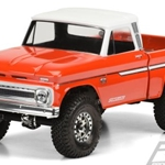 3483-00 1966 Chevrolet C-10 Clear Body SCX10 313mm