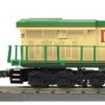 30-20288-1 MTH - ES44AC Imperial Diesel & Caboose Set With PS 3.0 - Merry Christmas