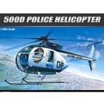 1:48 Hughes 500D Police Helicopter