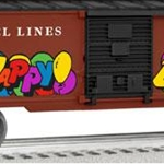 6-81256 Lionel O-27 Opr Box, Birthday w/Personalized Message