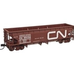 70-Ton Hart Ballast Car - Ready to Run - Master(R) - Canadian National #301270 (Boxcar Red, white, L