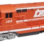 "<b><font color=""red"">SALE!</font></b> Atlas Master Line N  EMD GP-7 Phase 1 Locomotive, Toledo Peoria and Western #102 (DCC Equip)"