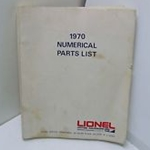 Lionel 1970 Numerical Parts List