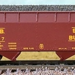 Bluford Shops N 66101 2-Bay Offset Side Hopper, South Buffalo #127
