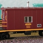 Bluford Shops N 24240 Short Roof Transfer Caboose, Ohio Central #553
