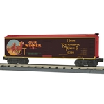 30-78193 MTH Railking 40' Woodsided Reefer Car - Our Winner Juice