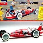 1/25 Long John Streamlined Dragster (Monogram)