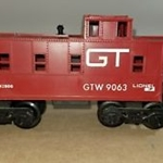 6-9063 Lionl SP-Type Caboose - Grand Trunk
