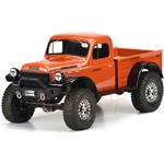 1946 Dodge Power Wagon Clear Body: 12.3 WB Crawler