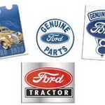 K-Line Ford Tin Signs 4 Pack