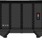 8-Panel 2-Bay Open Hopper w/Load - Ready to Run