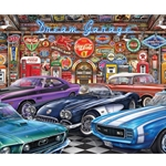 Dream Garage 1000 Piece Puzzle