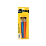 Darice® Paint Brush Set - Assorted Colors - 8 pieces