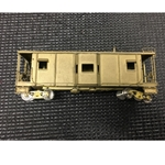 BRASS 0881 B&O I-13 Caboose Wood/Bay Window Unpainted