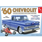 1/25 1960 Chevy Fleetside Pickup w/Go Kart 2T