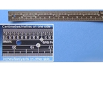 1/48 Scale Ruler, Stainless Steel