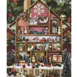 Christmas Country Home 1000 Piece Jigsaw Puzzle