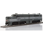 Alco PA - PB Set - ESU Sound & DCC -- New York Central 4203, 4303 (Lightning Stripe, 2-Tone Gray)
