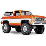 TRX-4 Scale and Trail Crawler w/1979 Chevrolet Blazer Body - Orange