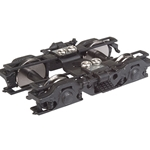 GSC 43-R Passenger Trucks - Black - 1 Pair