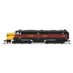 Alco PA, Cuyahoga Valley #6771, Black, Yellow & Maroon, Paragon3 Sound/DC/DCC, N (NP)