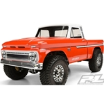1/10 1966 Chevy C-10 Clear Body with 12.3 Wheelbase: Trail Honcho