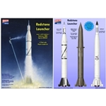 1/72 Redstone Launcher Rocket (Can build 1 of 3 Versions)