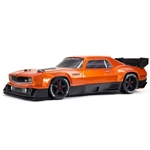 1/7 FELONY 6S BLX Street Bash All-Road Muscle Car RTR (Orange)