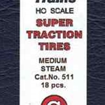 Calumet Scale Super Traction Tires Medium Steam