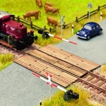 HO Scale Wooden Plank Crossing