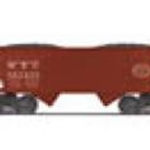 20-90615F MTH Premier 2-Bay Offset Hopper w/Load NYC