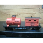 Model Power 98181 Amtrak 40' Work Caboose with Tank