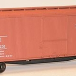 Accurail HO KIT 40' USRA Double Sheathed Wood Box, NH