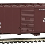 Louisville & Nashville #15001 (Boxcar Red, Old Reliable Slogan)
