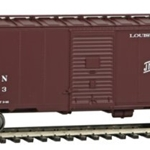 Louisville & Nashville #15013 (Boxcar Red, Old Reliable Slogan)