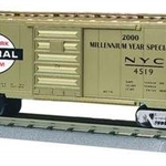 20-93037 MTH 40' Single Door Boxcar - NYC