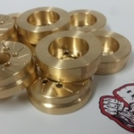 Beef Patties (Brass) - Scale Brake Rotors / Weights