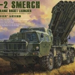 MENG Russian 9A52-2 Long Range Rocket Launcher 1:35