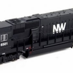 Atlas Master Line N 40002055 EMD SD50, Norfolk & Western #6501 (Black, White, NW Logo) (Equipped wi)