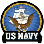 U.S. Navy Metal Sign