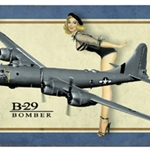 B-29 Superfortress Metal Sign