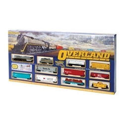 Bachmann Overland Limited Train Set, UP Union Pacific HO Freight