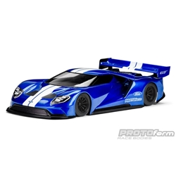 1/10 Ford GT Clear Body, 200mm Pan Car